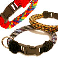 a corded dog collar graphic