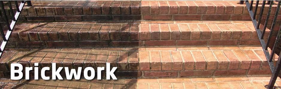 Pressure Clean Brickwork