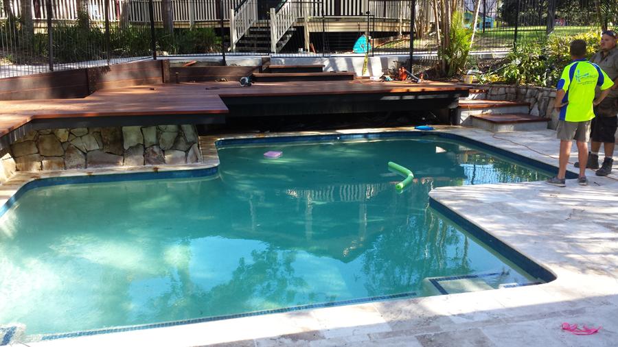Concrete pool builder servicing frankston for Concrete pool builders