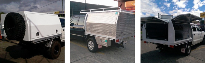 Custom Made Ute Canopies