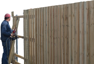 timber fence contractor Frankston