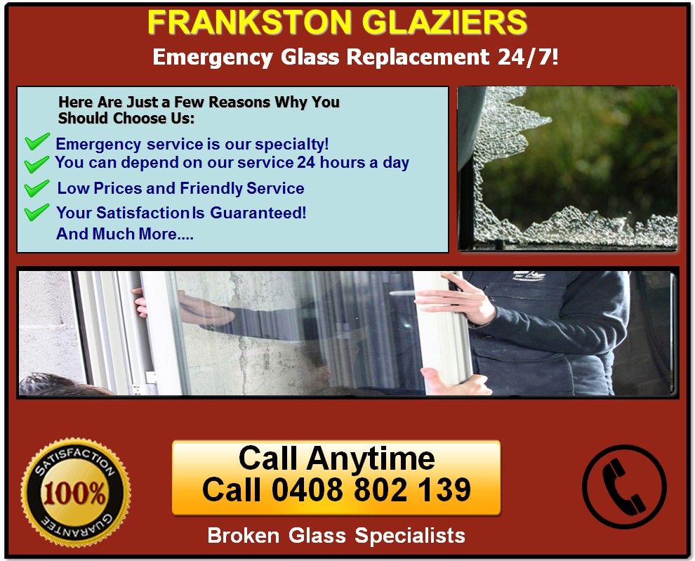 Frankston Glaziers Available 24/7