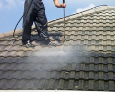 Pressure Clean Roof - Step One in Roofing Restoration