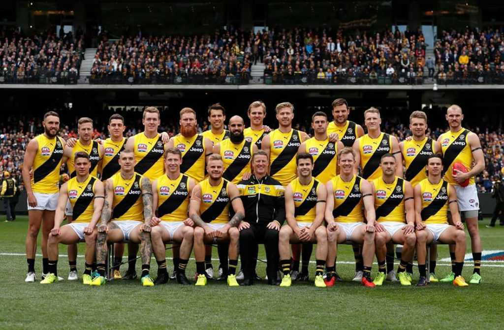 Picture Of Richmond Tigers 2017 Afl Premiers